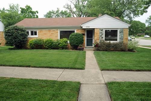 339 S Park, Westmont, IL 60559