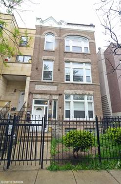 2744 W Haddon Unit 3, Chicago, IL 60622
