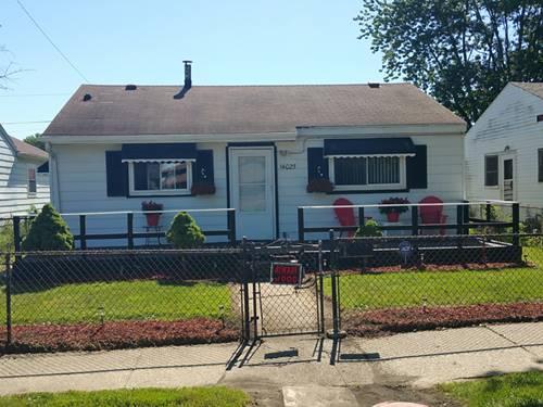 14025 S Calhoun, Burnham, IL 60633