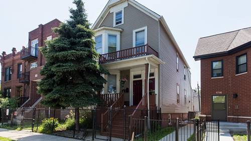 1714 N Whipple, Chicago, IL 60647