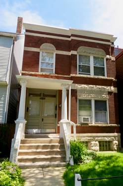3537 N Hermitage, Chicago, IL 60657 Lakeview