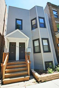 3241 N Southport Unit 2, Chicago, IL 60657 Lakeview