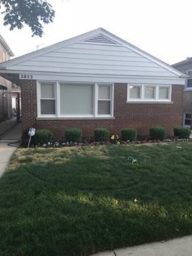 2853 W Fitch, Chicago, IL 60645