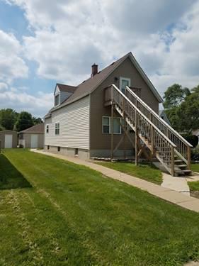 14406 S Cleveland, Posen, IL 60469