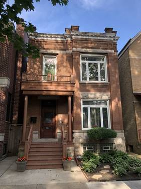 3443 N Marshfield, Chicago, IL 60657 Lakeview