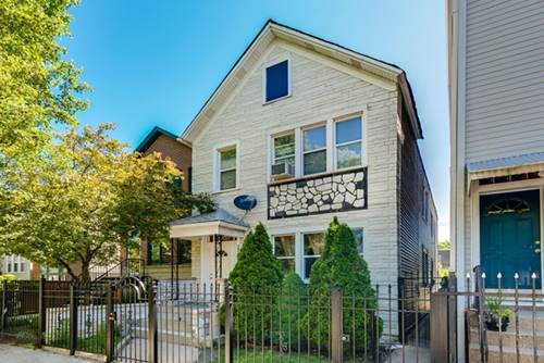 1705 N Talman, Chicago, IL 60647