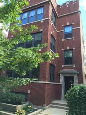 2525 W Leland Unit 3, Chicago, IL 60625 Lincoln Square
