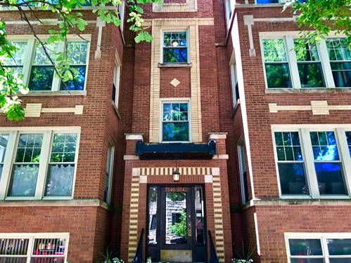 5540 N Glenwood Unit G, Chicago, IL 60640 Andersonville