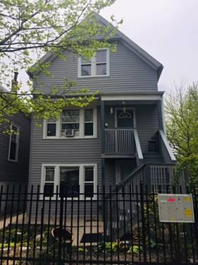 3707 W Mclean, Chicago, IL 60647
