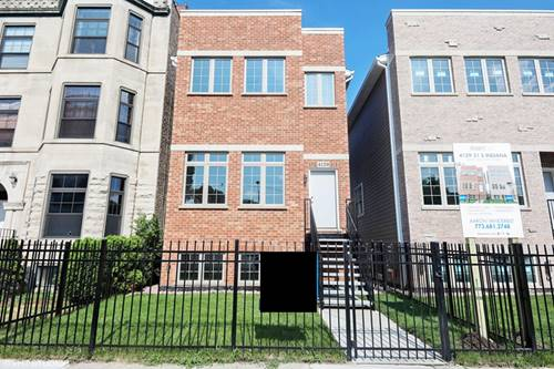 4129 S Indiana, Chicago, IL 60653