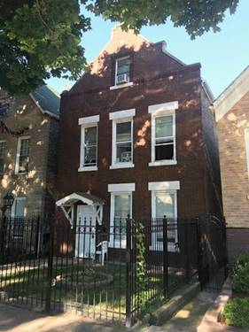 3818 S Wolcott, Chicago, IL 60609