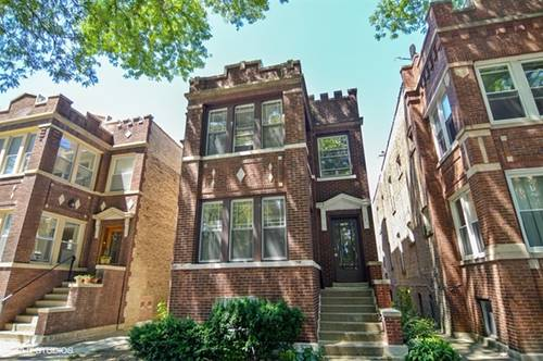 4858 N Talman, Chicago, IL 60625 Lincoln Square