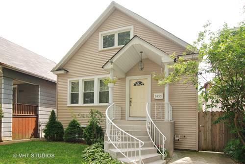 5855 W Warwick, Chicago, IL 60634