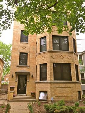 2171 W Sunnyside Unit GARDEN, Chicago, IL 60625 Ravenswood