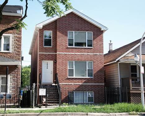 2856 W 38th, Chicago, IL 60632