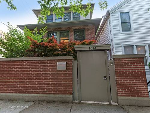 1614 N Paulina, Chicago, IL 60622 Bucktown
