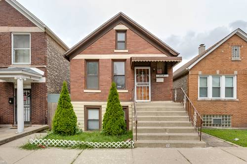 3718 S Wolcott, Chicago, IL 60609