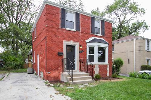 2176 W 118th, Chicago, IL 60643