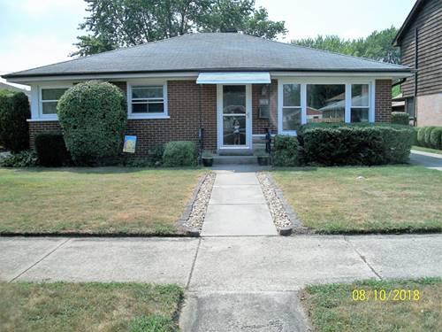 9036 Sproat, Oak Lawn, IL 60453