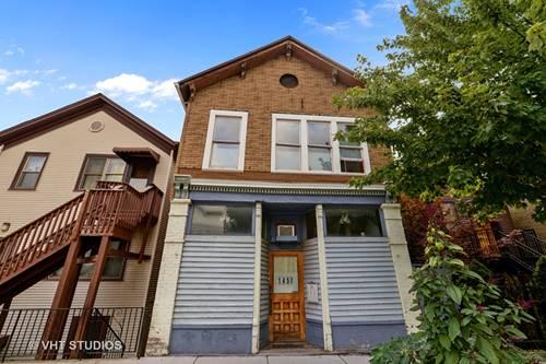 1457 N Wood, Chicago, IL 60622 Wicker Park