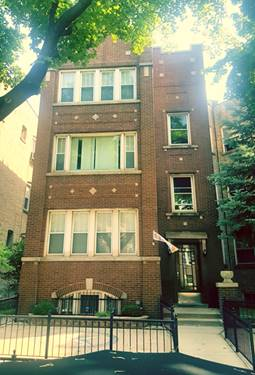 4927 W Cuyler Unit 3, Chicago, IL 60641