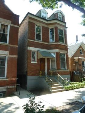 3639 S Wood, Chicago, IL 60609