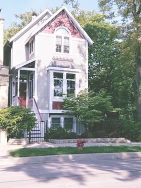 2028 N Wolcott, Chicago, IL 60614 Bucktown