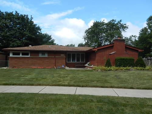 6601 W 88th, Oak Lawn, IL 60453
