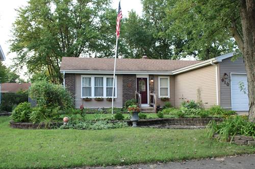 610 Cochise, Bolingbrook, IL 60440