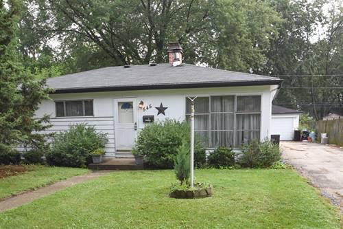 545 N 3rd, Villa Park, IL 60181