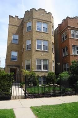 6331 N Oakley, Chicago, IL 60659 West Ridge
