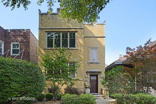 2550 W Cullom, Chicago, IL 60618 North Center
