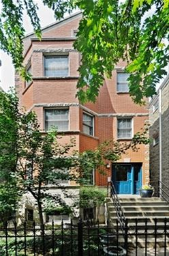 3238 N Seminary Unit 1, Chicago, IL 60657 Lakeview