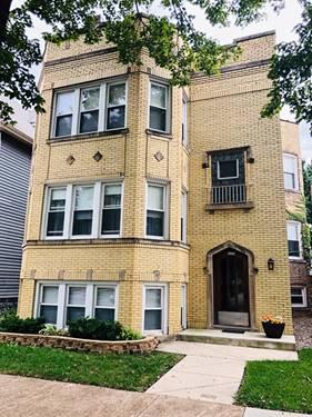 6329 W Cuyler, Chicago, IL 60634