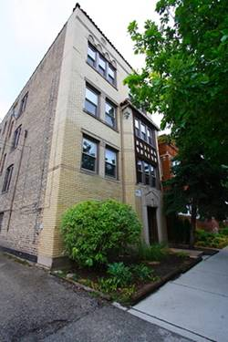 2244 W Winona Unit FRNT, Chicago, IL 60625 Ravenswood