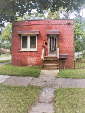 11328 S Morgan, Chicago, IL 60643