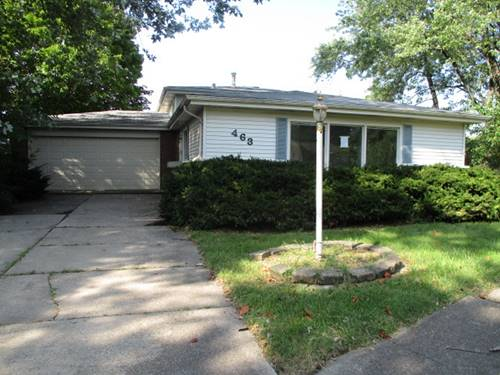 463 Springfield, Park Forest, IL 60466