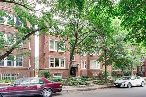 1518 W Rosemont Unit 3W, Chicago, IL 60660 Edgewater