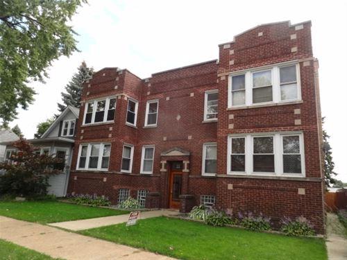 5217 W Cuyler, Chicago, IL 60641