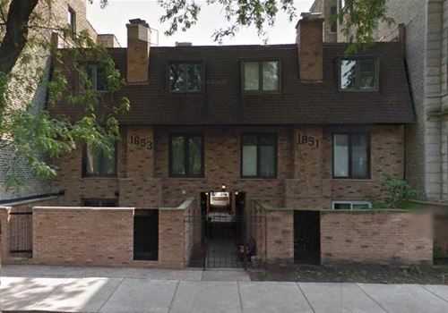 1853 N Cleveland Unit F, Chicago, IL 60614 Lincoln Park