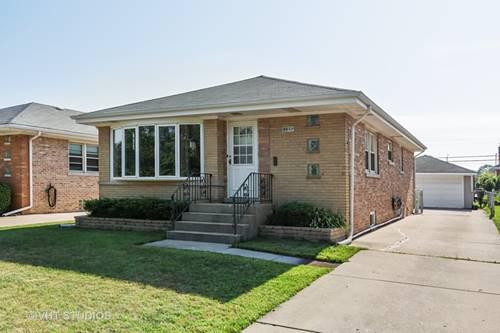 4433 N Canfield, Norridge, IL 60706