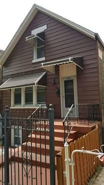 3538 S Wolcott, Chicago, IL 60609