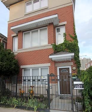 1605 N Sedgwick Unit A, Chicago, IL 60614 Lincoln Park