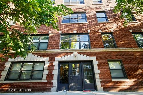 1249 W Roscoe Unit 2, Chicago, IL 60657 Lakeview