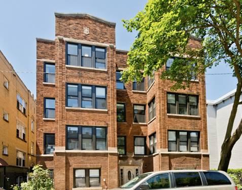 2020 N Spaulding Unit 3, Chicago, IL 60647 Logan Square