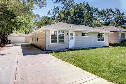 15413 Lamon, Oak Forest, IL 60452