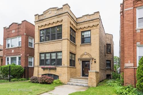 5245 W Fletcher, Chicago, IL 60641