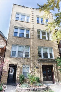 3630 N Bosworth Unit 2, Chicago, IL 60613 Lakeview
