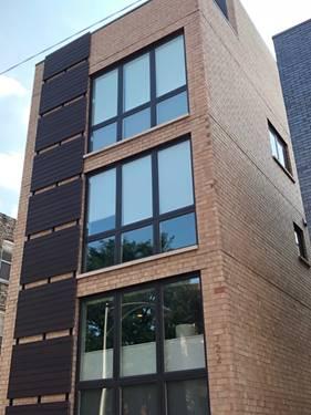 722 N Ada Unit 3, Chicago, IL 60642 Noble Square