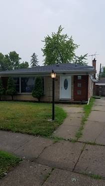 10020 Buell, Oak Lawn, IL 60453